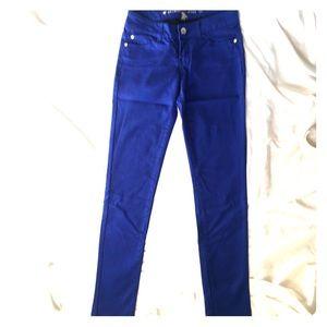 Celebrity Pink blue skinny jeans 1
